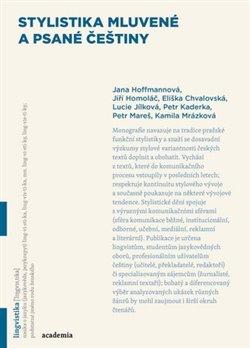 Obálka titulu Stylistika mluvené a psané češtiny