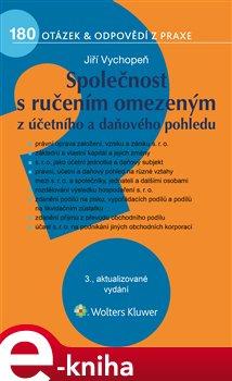 Obálka titulu Společnost s ručením omezeným z účetního a daňového pohledu, 3. vydání
