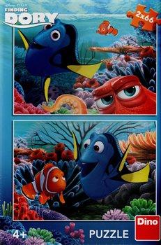 Obálka titulu Puzzle Dory mezi korály /2x66dílků/