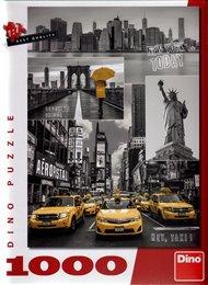 Puzzle New York koláž 1000 dílků