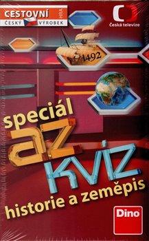 Obálka titulu AZ Kvíz speciál historie a zeměpis