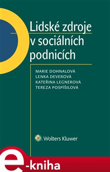 Obálka titulu Lidské zdroje v sociálních podnicích