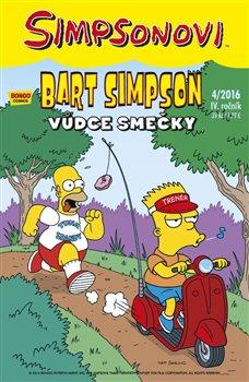 Obálka titulu Bart Simpson 4/2016: Vůdce smečky