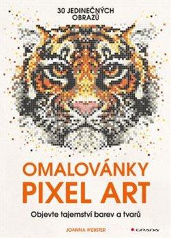 Obálka titulu Omalovánky Pixel Art