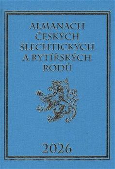 Obálka titulu Almanach českých šlechtických a rytířských rodů 2026