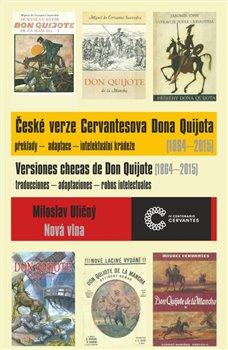 Obálka titulu České verze Cervantesova Dona Quijota (1864 – 2015)