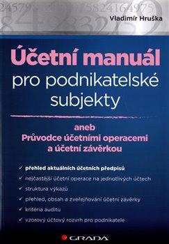 Obálka titulu Účetní manuál pro podnikatelské subjekty