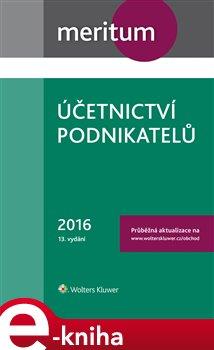Obálka titulu Meritum Účetnictví podnikatelů 2016