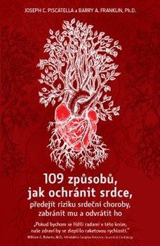 Obálka titulu 109 způsobů, jak ochránit srdce, předejít riziku srdeční choroby, zabránit mu a odvrátit ho