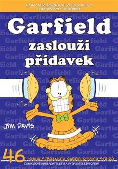 Obálka titulu Garfield 46: Garfield zaslouží přídavek