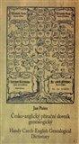 Česko-anglický příruční slovník genealogický (Handy Czech-English Genealogical Dictionary) - obálka