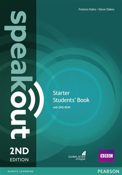 Obálka titulu Speakout 2nd Edition Starter Student's Book and DVD-ROM