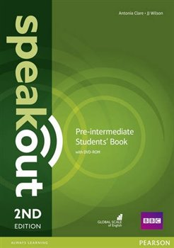 Obálka titulu Speakout 2nd Edition Pre-Intermediate Student's Book and DVD-ROM