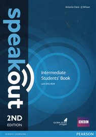 Speakout 2nd Edition Intermediate Student's Book and DVD-ROM
