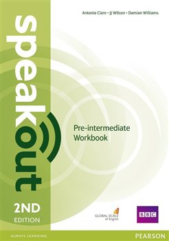 Obálka titulu Speakout 2nd Edition Pre-Intermediate Workbook without key