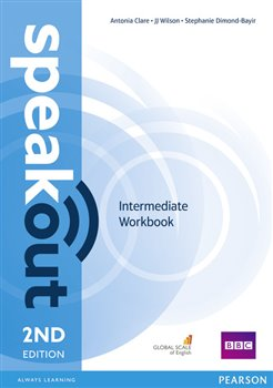 Obálka titulu Speakout 2nd Edition Intermediate Workbook without Key
