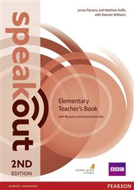 Speakout 2nd Edition Elementary Teacher's Guide with Resource Disk Pack