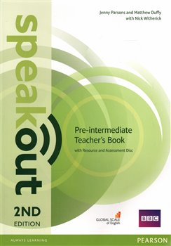 Obálka titulu Speakout 2nd Edition Pre-Intermediate Teacher's Guide