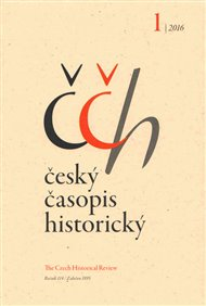 Český časopis historický 1/2016