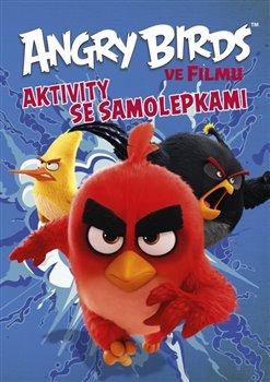 Obálka titulu Angry Birds ve filmu - Aktivity se samolepkami