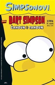 Obálka titulu Bart Simpson 5/2016: Čahoun a tahoun