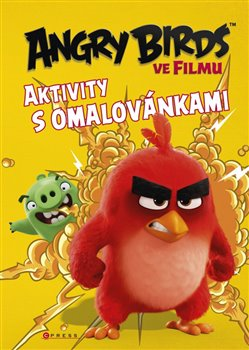 Obálka titulu Angry Birds ve filmu - Aktivity s omalovánkami
