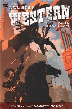 Obálka titulu All Star Western 2: Válka vládců noci