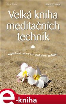 Velká kniha meditačních technik. Jednoduchá cvičení pro každodenní problémy - Ronald D. Siegel e-kniha