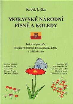 Obálka titulu Moravské národní písně a koledy