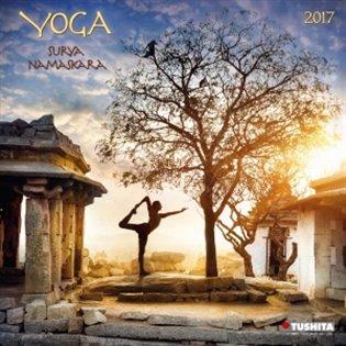 Nástěnný kalendář - Yoga Surya Namaskara 2017