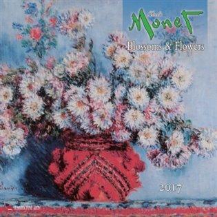 Nástěnný kalendář - Claude Monet 2017:Blossoms & Flowers - -   Booksquad.ink