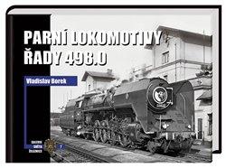Obálka titulu Parní lokomotivy řady 498.0