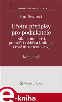Obálka titulu Účetní předpisy pro podnikatele. Komentář
