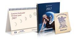 Obálka titulu Lunární kalendář 2017 Krásné paní