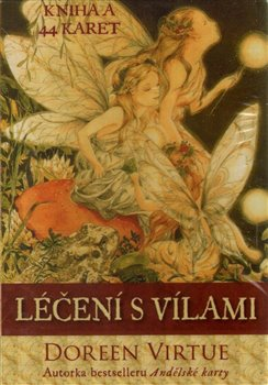 Obálka titulu Léčení s vílami - kniha a 44 karet