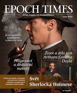 Obálka titulu Epoch Times. Svět Sherlocka Holmese