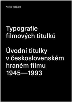 Obálka titulu Typografie filmových titulků