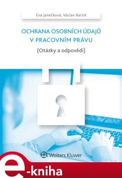 Obálka titulu Ochrana osobních údajů v pracovním právu (Otázky a odpovědi)
