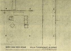 Obálka titulu Mies van der Rohe - Vila Tugendhat v Brně