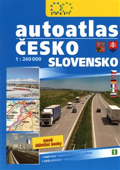 Obálka titulu Autoatlas Česko Slovensko A4 /1:240 000/