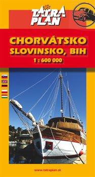 Obálka titulu Chorvátsko, Slovinsko, BIH, Č.Hora 1:600 000