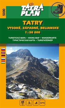 Obálka titulu Tatry Vysoké, Západné, Belianske