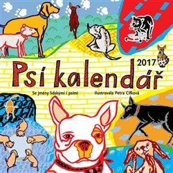 Obálka titulu Psí kalendář 2017