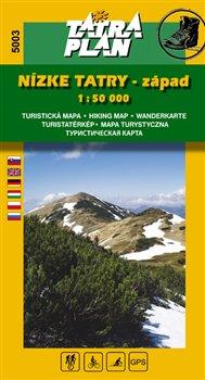 Obálka titulu Nízke Tatry - západ