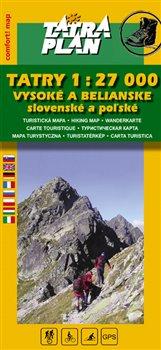 Obálka titulu Tatry 1:27 000 Vysoké a Belianske