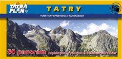 Obálka titulu TATRY - turistický sprievodca v panorámach