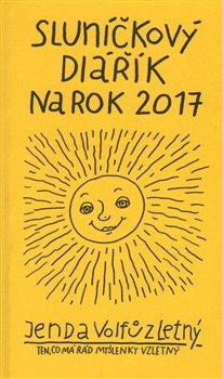 Obálka titulu Sluníčkový diářík na rok 2017
