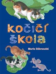 Autorka popisuje kočičí výchovu, všímá si, co vše musí pečlivá kočičí máma naučit své děti, aby byly schopny samostatného života. Tyto činnosti jsou obsaženy již v názvech jednotlivých kapitol : Už se myjeme sami, Učíme se lézt na stromy, Učíme se chytat myši, Poznáváme svět kolem nás, Poznáváme ostatní zvířata.