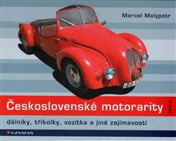 Obálka titulu Československé motorarity