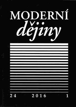 Obálka titulu Moderní dějiny 24/1 2016